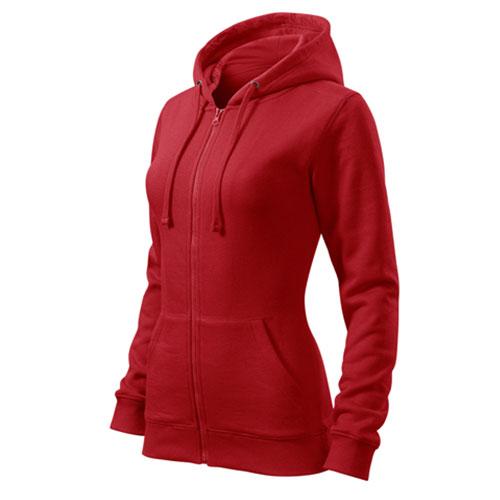 Női kapucnis cipzáros pulóver - Adler