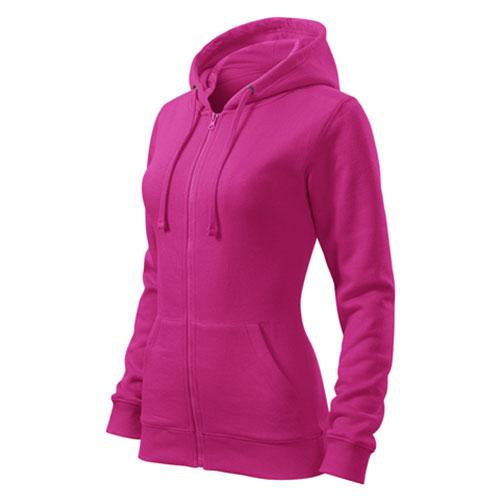 Női kapucnis cipzáros pulóver - Malfini - több szín és méret d6f3dab878